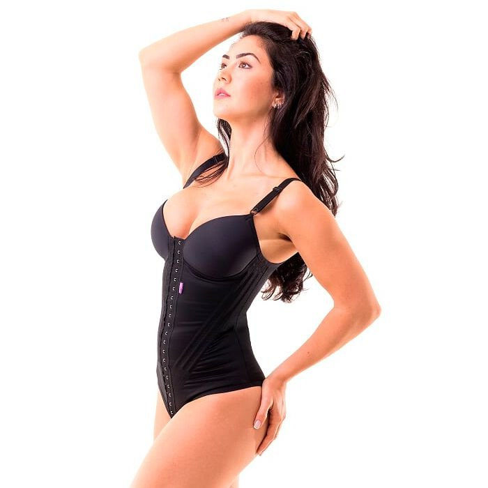 d3eac34ae Cinta modeladora feminina BODY com bojo - Preto - Cinta modeladora ...