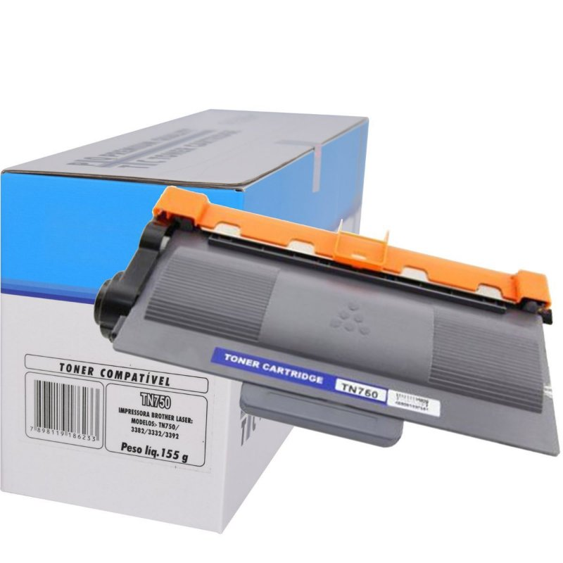 Toner Genérico Compatível Brother tn 750