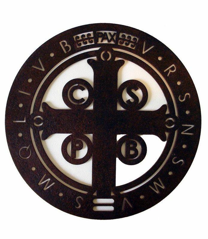 Mandala Cruz de São Bento