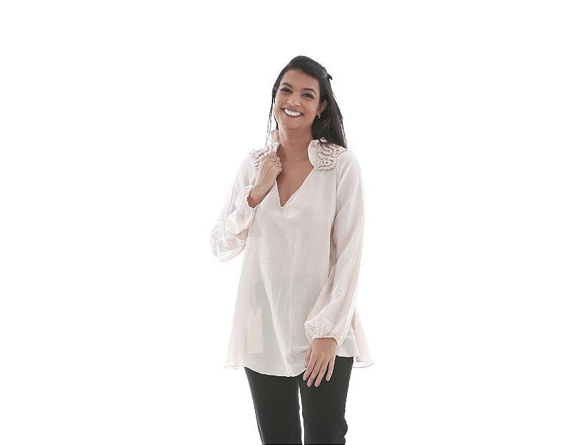 68. Blusa Lelis Blanc