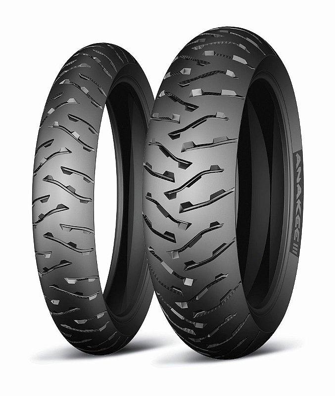 Pneu Michelin Anakee 3 110/80R19 e 150/70R17 (Par)