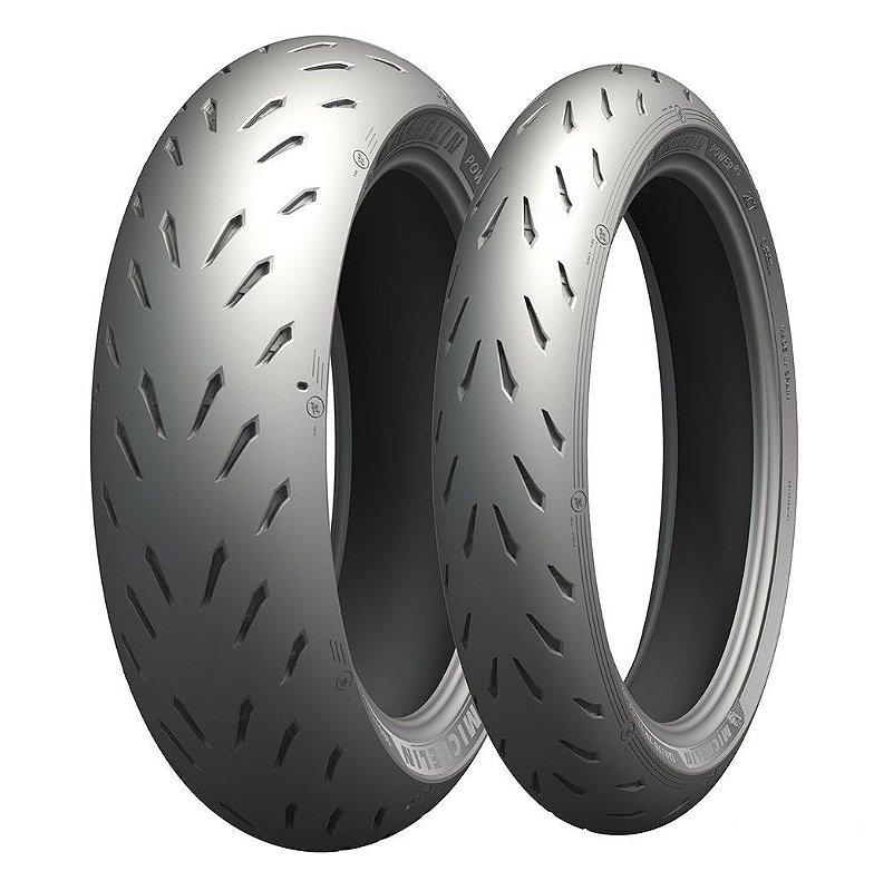 Pneu Michelin Power RS 110/70R17 e 140/70R17 66H (Par)
