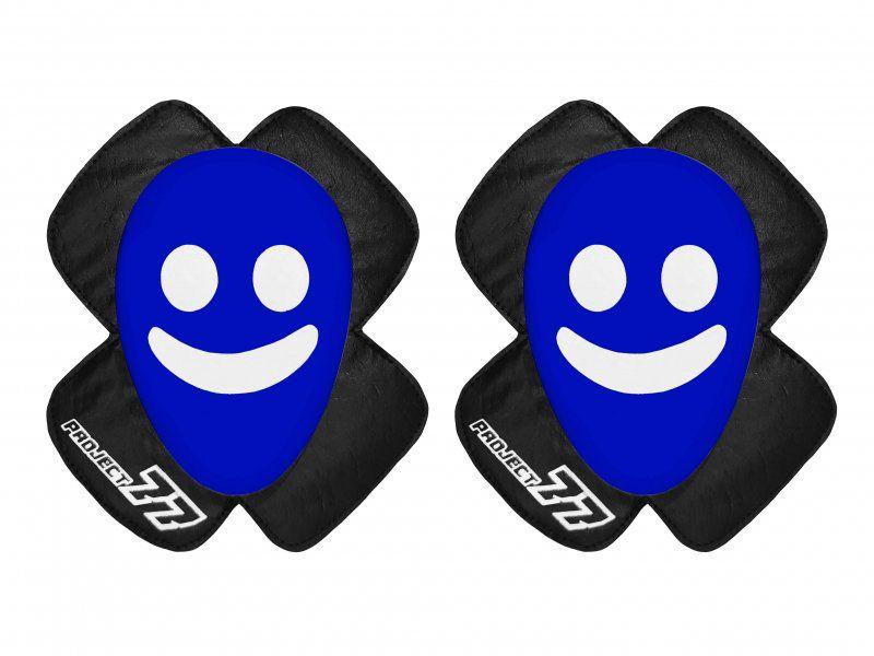 Raspador de Macacão Project77 - Smile - Azul