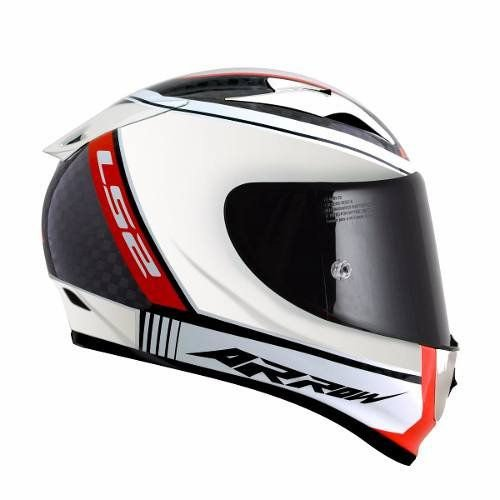 Capacete LS2 FF323 Arrow Carbon Chrome (Fibra de Carbono)