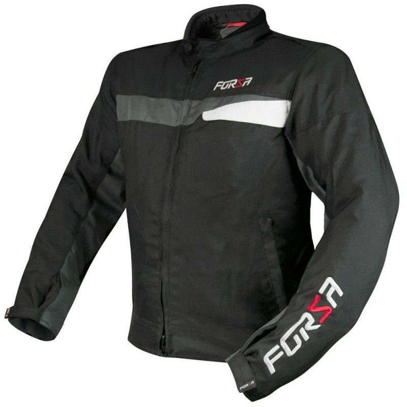 Jaqueta Forza Sports Manghen - Preta/Cinza