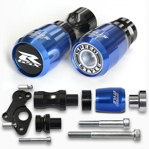 Slider Speed Style Suzuki GSXR SRAD 750 08>13 - Azul