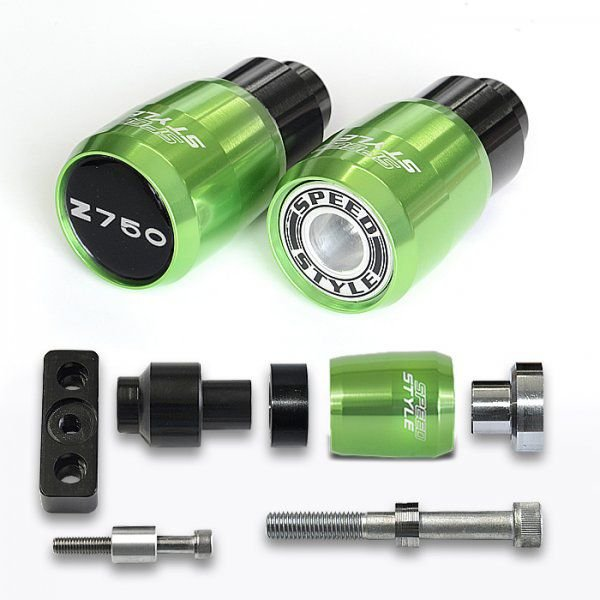 Slider Speed Style Kawasaki Z750 Todas - verde