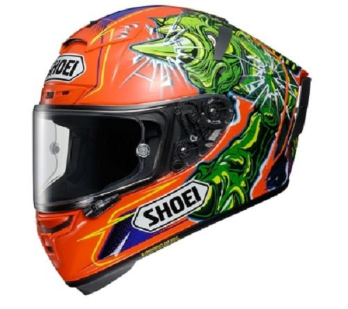 Capacete Shoei X-Spirit III Power Rush TC-8