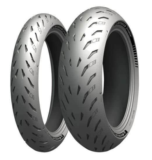Pneu Michelin Power 5 120/70R17 e 190/55R17 (Par)