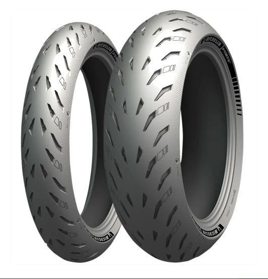 Pneu Michelin Power 5 120/70R17 e 180/55R17 (Par)