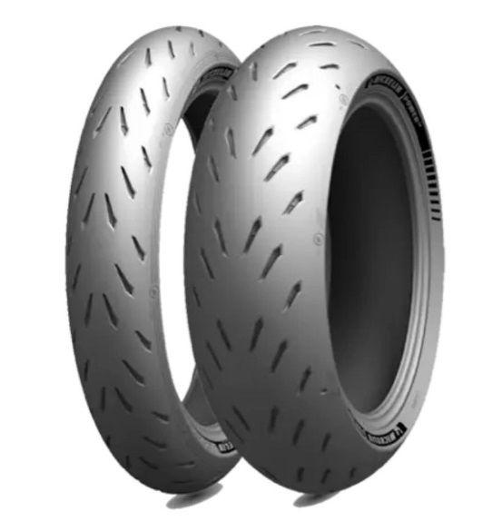 Pneu Michelin Power GP 120/70 ZR17 (58W) e 190/55 ZR17 (75W) Par