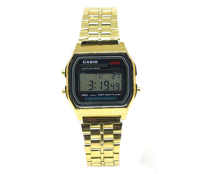 71dbdee0c4 Relógio Digital Casio Dourado - Confira aqui - Kuti Store - A Melhor ...