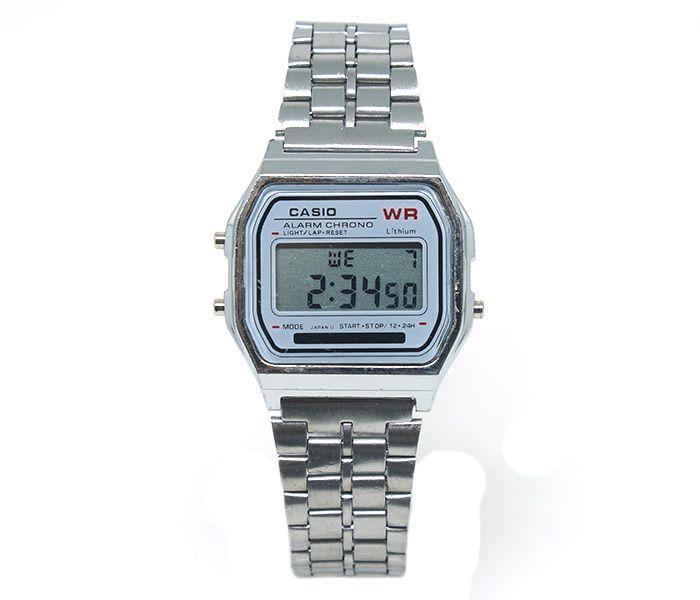 d50d1ab969 Relógio Digital Casio Prata - Confira aqui - Kuti Store - A Melhor ...
