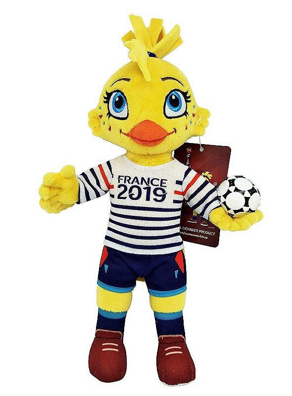 Mascote da Copa Feminina 2019 Pelúcia Ettie