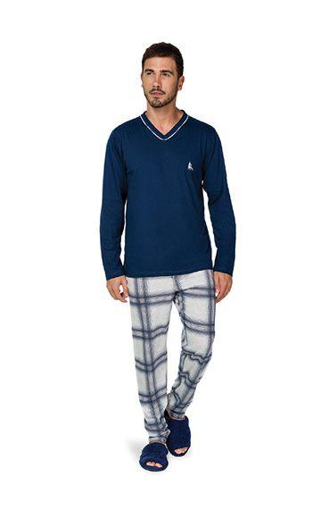 972147218b7d90 ref: 9432 - Pijama algodão xadrez
