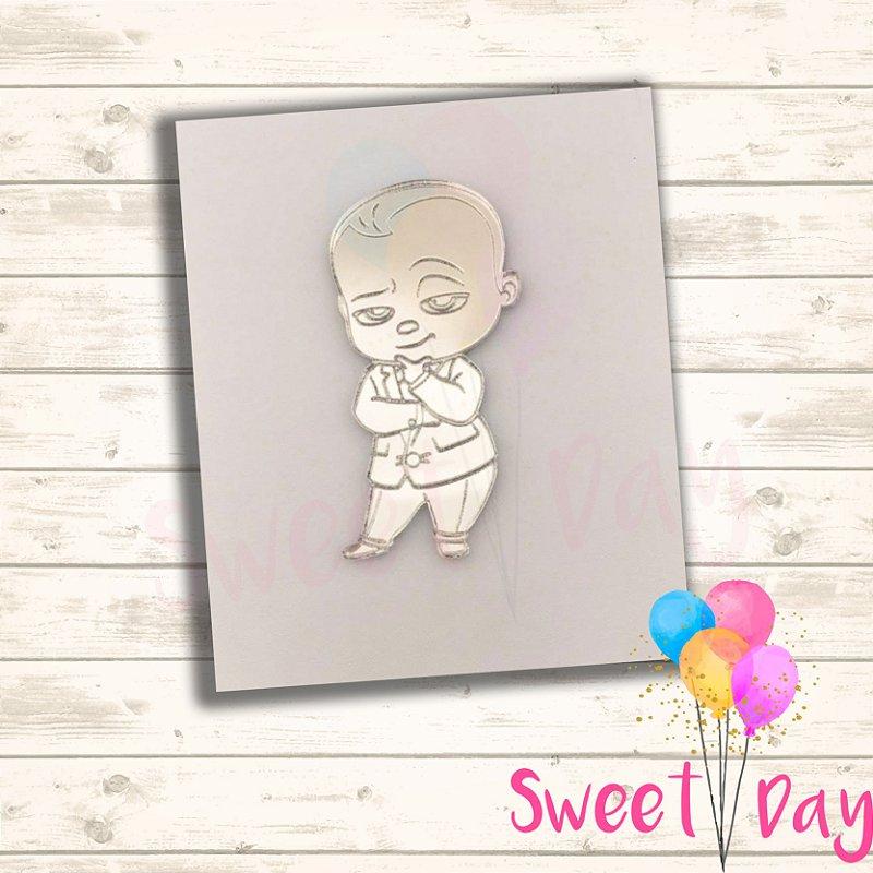 Aplique Baby Boss ( 10 peças ) 5 cm