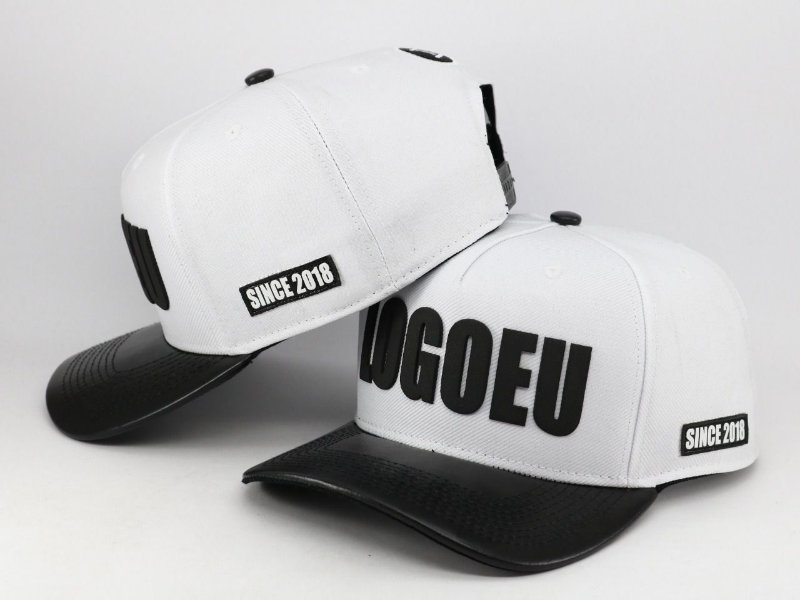 TRUCKER LOGOEU WHITE