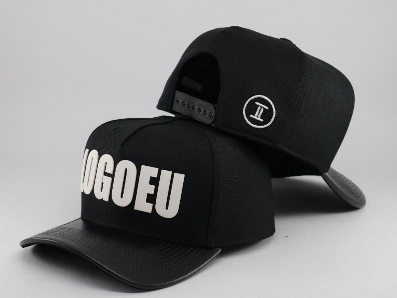 TRUCKER LOGOEU BLACK