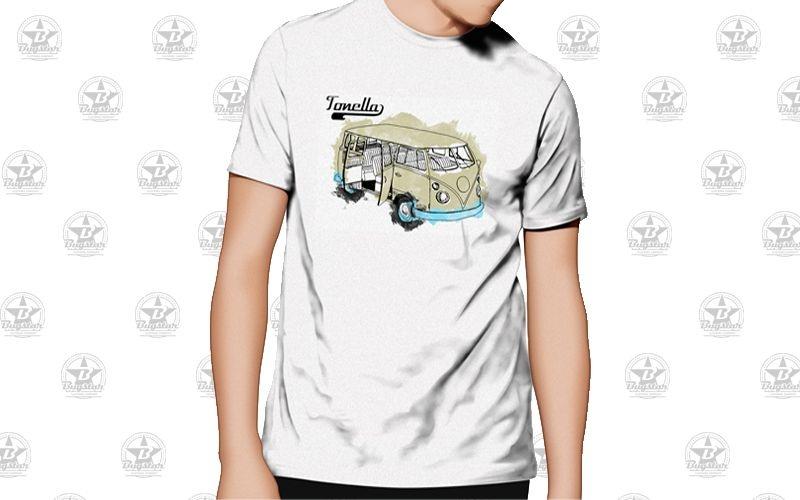 Camiseta Tonella Kombianca