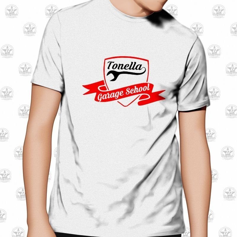 Camiseta Tonella Garage School