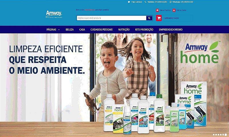 E-COMMERCE | LINHA HOME E SAÚDE AMWAY