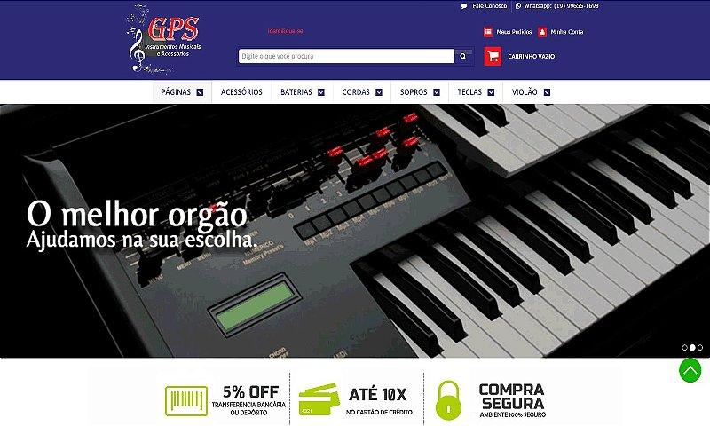E-COMMERCE | INSTRUMENTOS MUSICAIS