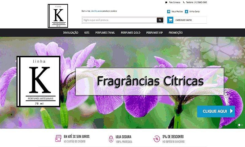 E-COMMERCE | PERFUMES ARTESANAIS