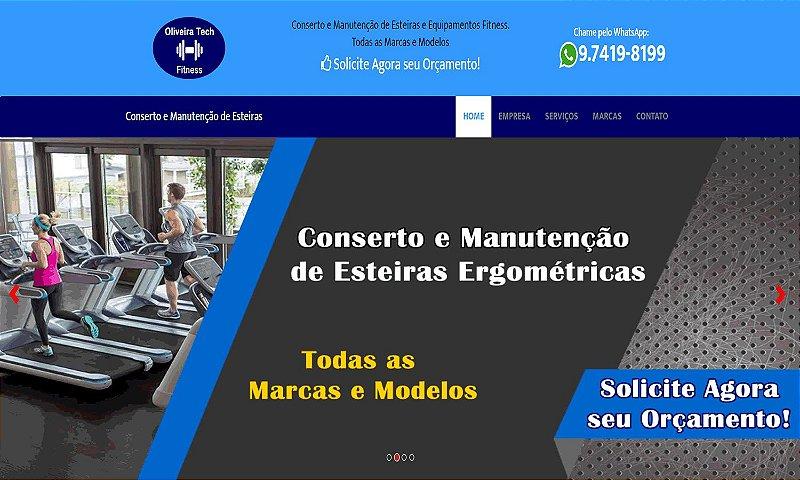 WEB SITE | MANUTENÇÃO DE ESTEIRAS