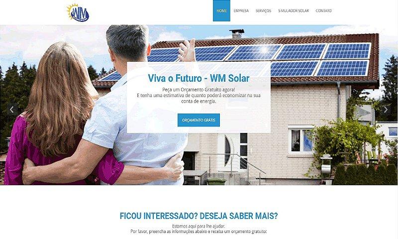 WEB SITE | PAINÉIS DE ENERGIA SOLAR
