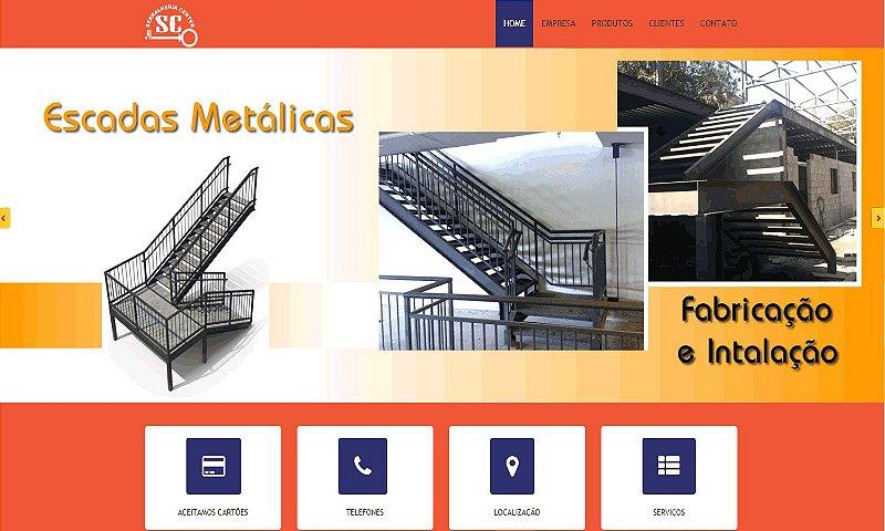 WEB SITE | SERVIÇOS DE SERRALHERIA