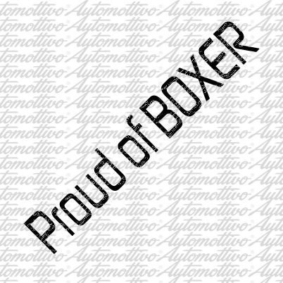 Proud of Boxer