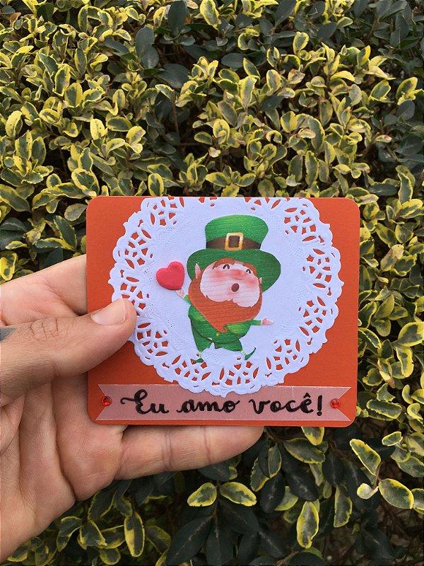 Cartão Mágico Amor