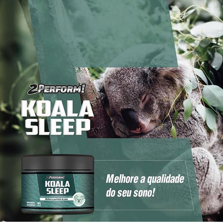 Suplemento para Dormir Natural Fitoterápico Koala Sleep