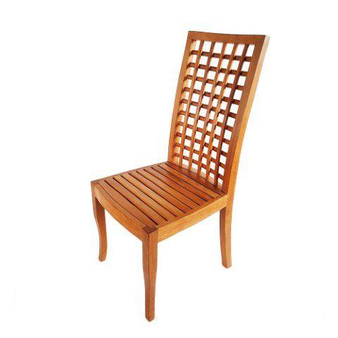 Cadeira Encosto Trançado - Madeira De Demolição