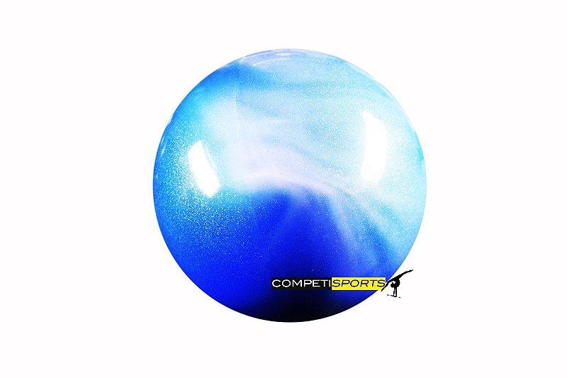 Bola Mescla Azul Claro e Azul Escuro