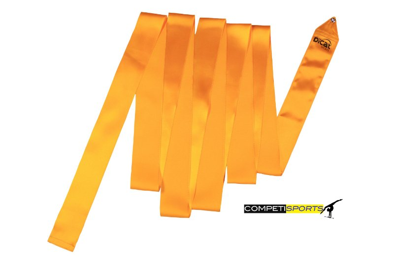 Fita para Ginástica Rítmica Amarela