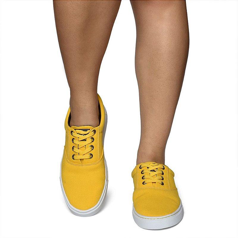 Tênis Versaty - Lona Amarelo