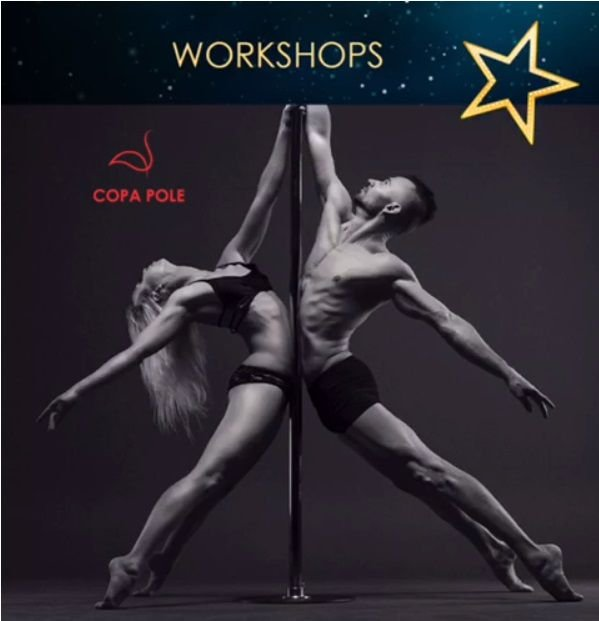Pole Choreography com Evgeny Greshilov - 02/02 -09h00 - 10h30