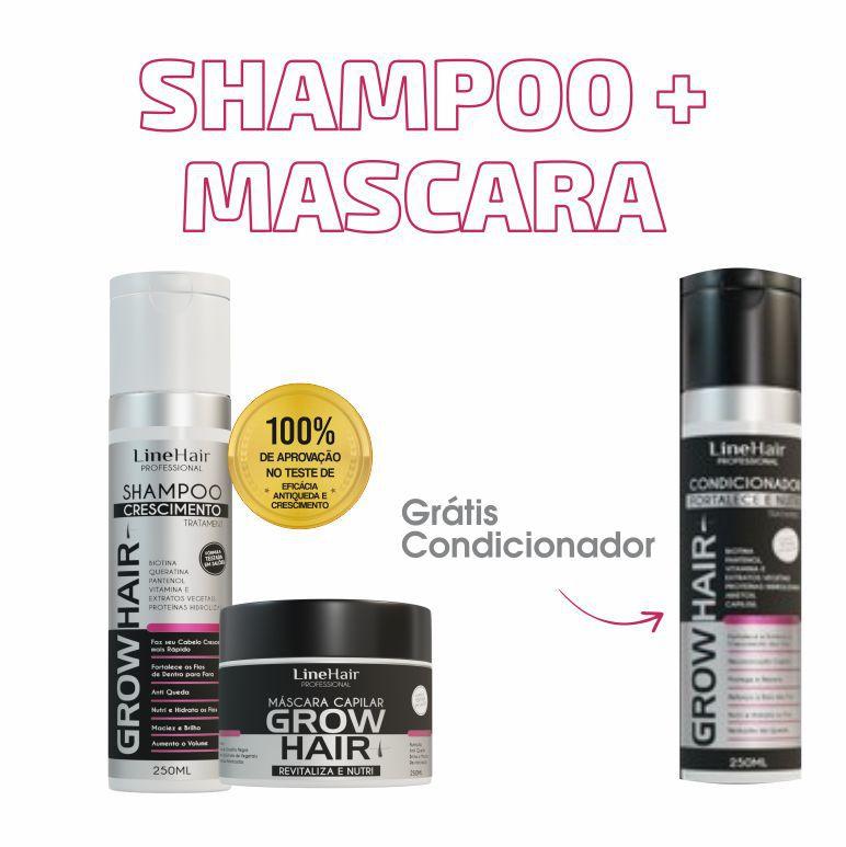 Shampoo + Mascara (Grátis Condicionador)