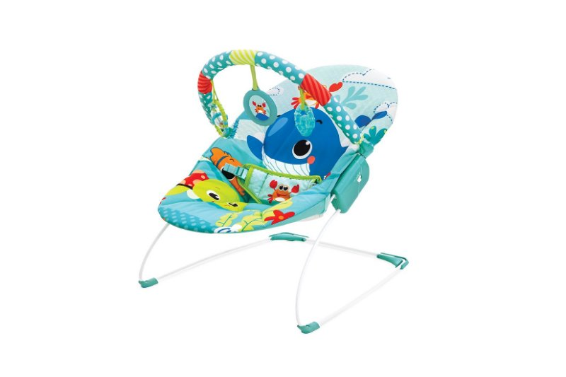 Cadeira Musical E Vibratoria Azul Mar
