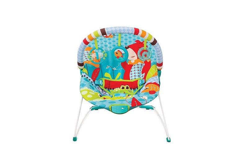 Cadeira De Descanso Vibratoria Azul Urso