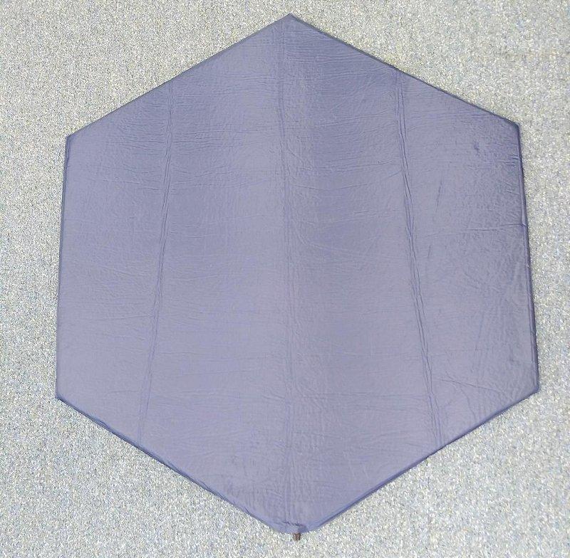 Colchão Sextavado Azul