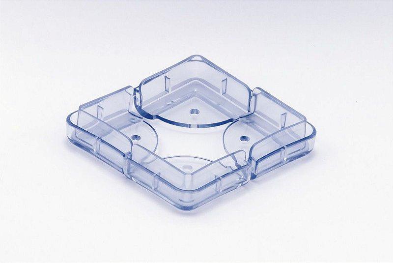 Protetor De Mesa Em Silicone Transparente