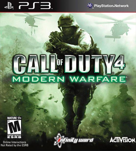 Call of Duty 4: Modern Warfare PS3-cover