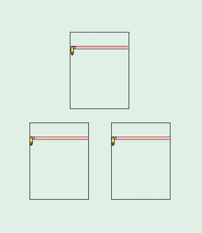 Trio Porta Look Simples