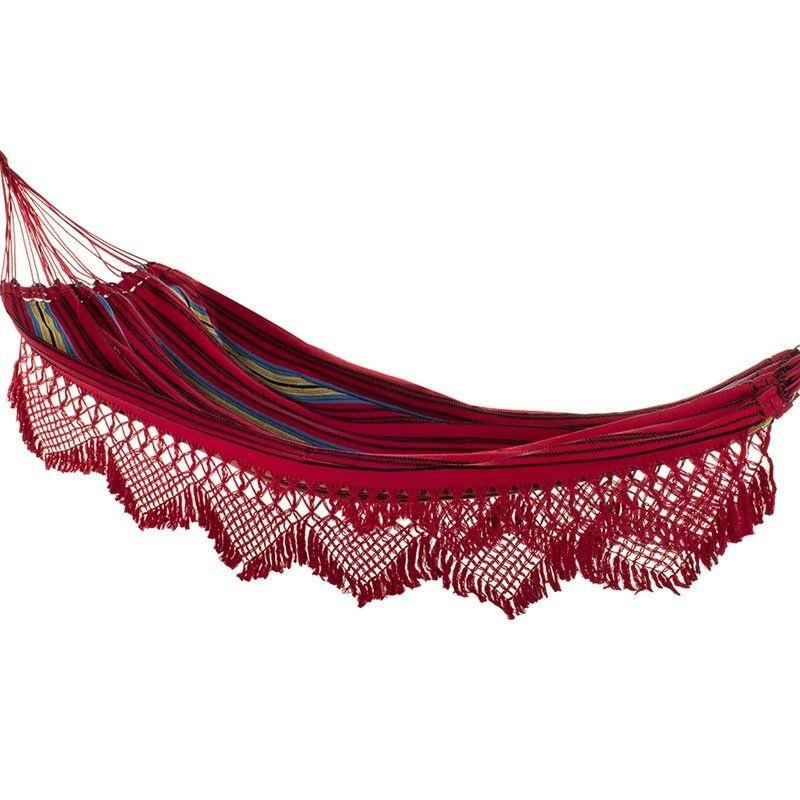 Rede de Dormir Catarinense Vermelha