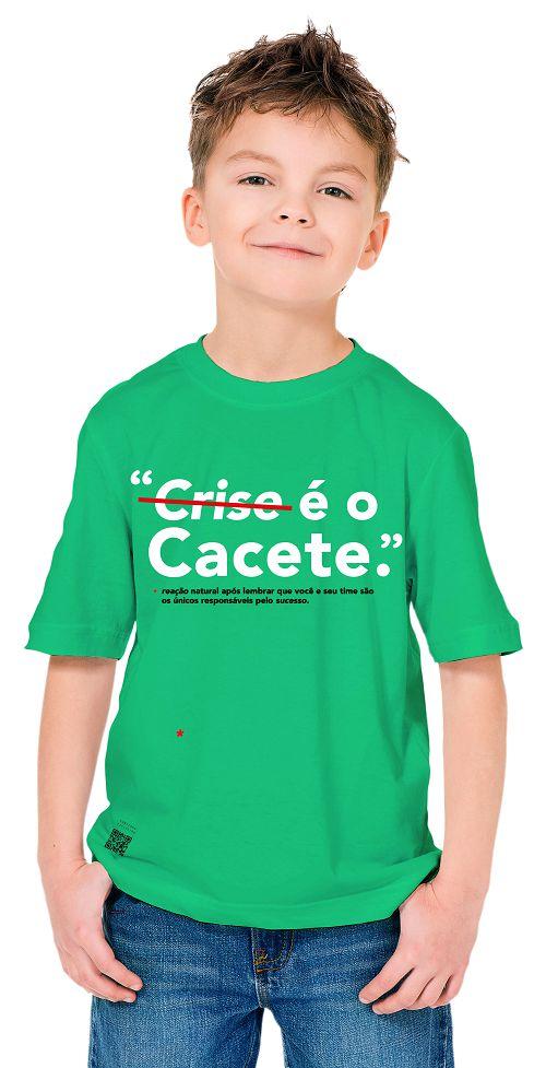 Mini Tshirt Crise é o Cacete