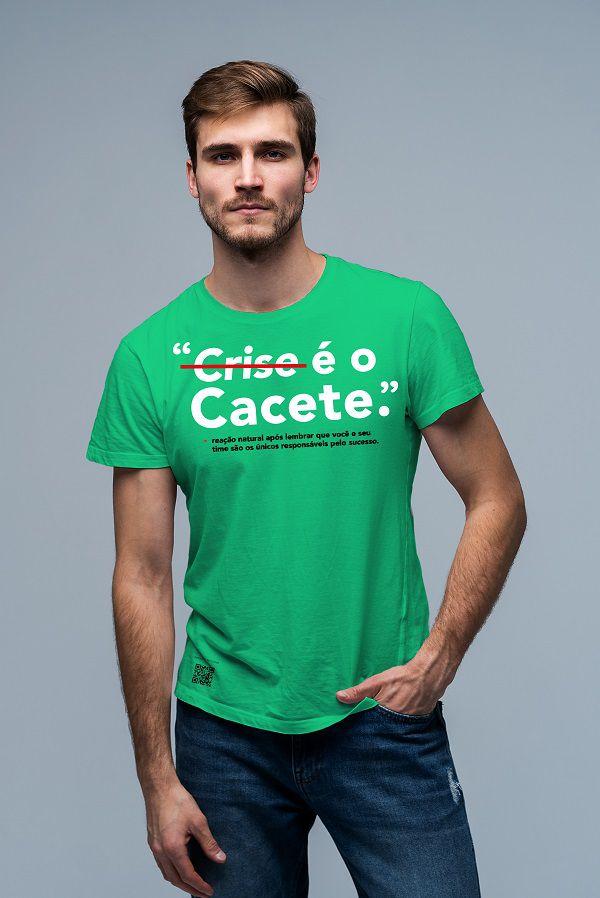 T shirt Crise é o cassete