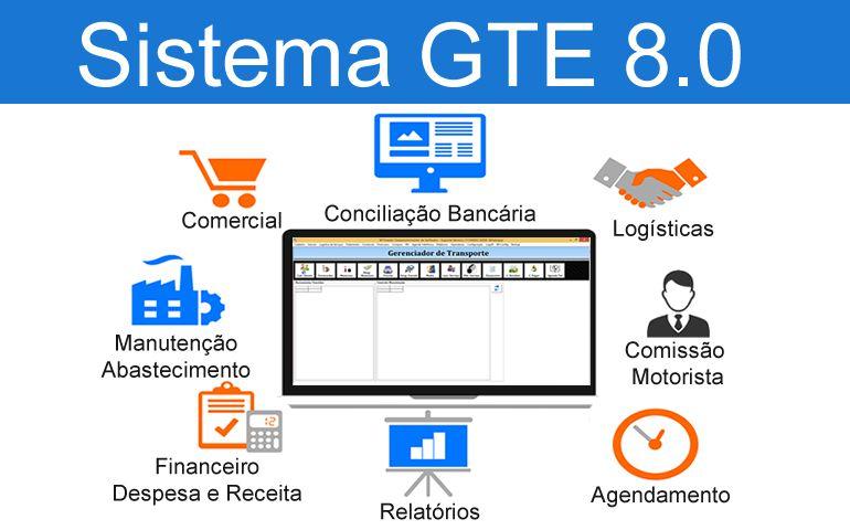 Sistema Transporte Executivo - Licença para 3 Computadores