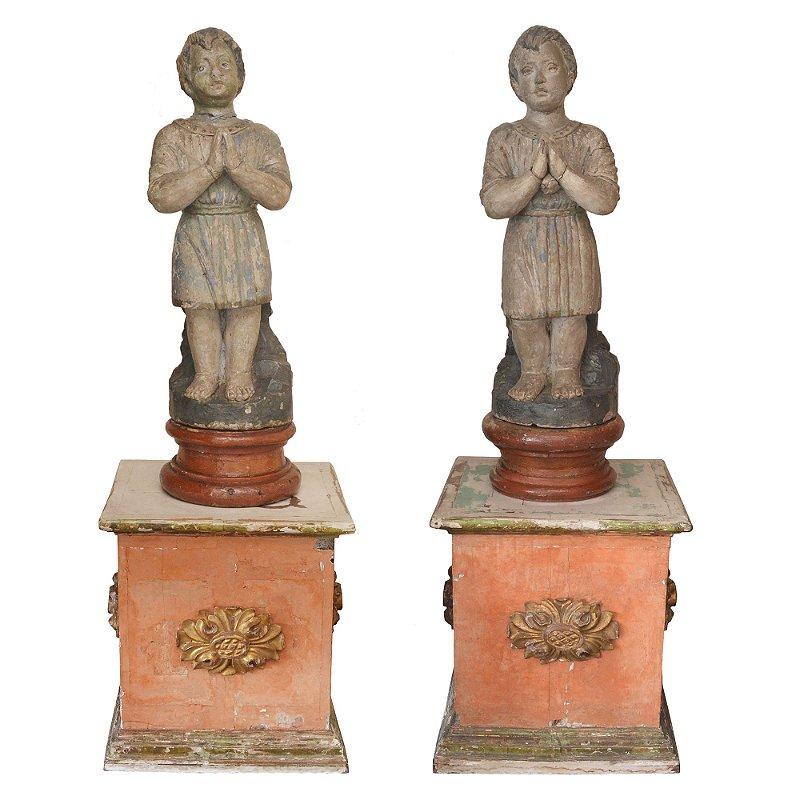 Cosme e Damião , Antiguidades séc XVIII